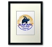 Safari Zone Framed Print