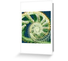 Spiral of Creation Greeting Card