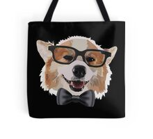 Smart Corgi Tote Bag