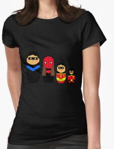 Nesting Robins Womens Fitted T-Shirt