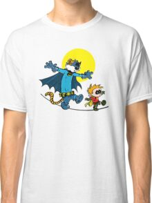 Dynamic Duo Calvin and Hobbes Classic T-Shirt