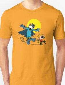 Dynamic Duo Calvin and Hobbes Unisex T-Shirt