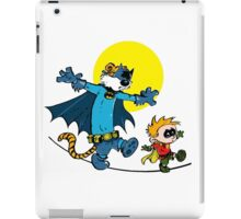 Dynamic Duo Calvin and Hobbes iPad Case/Skin