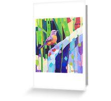 Rock Warbler Greeting Card