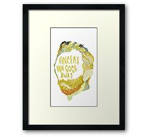 Vincent Van Gogh Away  Framed Print