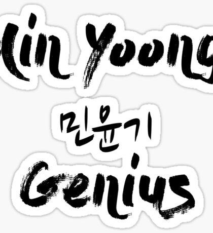 Min Yoongi - Genius Sticker