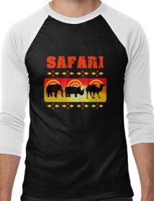 Safari Wild Life Hunt Men's Baseball ¾ T-Shirt