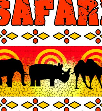 Safari Wild Life Hunt Sticker
