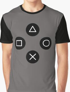 Funny Cool Gamers Controller Joystick Graphic T-Shirt