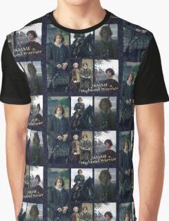 JAMMF/Highland Warrior collage  Graphic T-Shirt