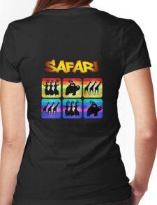 Safari Windows Womens Fitted T-Shirt