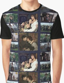 Dragonfly in Amber/Jamie & Claire Graphic T-Shirt