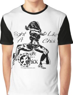 """""""Fight Like A Chick"""" Graphic T-Shirt"""