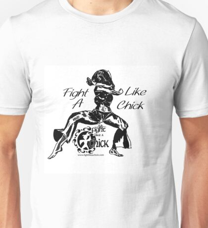 """Fight Like A Chick"" Unisex T-Shirt"
