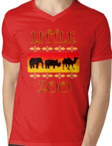 Little Zoo Mens V-Neck T-Shirt