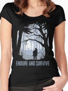 TLOU Artwork Women's Fitted Scoop T-Shirt