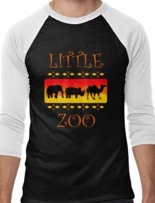 Little Zoo Men's Baseball ¾ T-Shirt