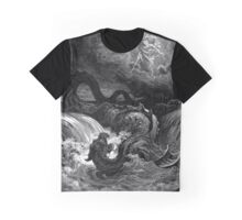 The defeat of leviathan - Gustave Dore  Graphic T-Shirt