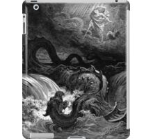 The defeat of leviathan - Gustave Dore  iPad Case/Skin