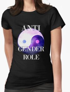 ANTI GENDER ROLE Womens Fitted T-Shirt