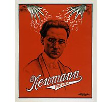 Newmann the Great - Vintage Magic Photographic Print