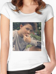 jacob sartorius Women's Fitted Scoop T-Shirt