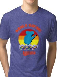 Koala Safari Tri-blend T-Shirt