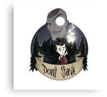 Don't Starve: Maxwell Is Watching Canvas Print