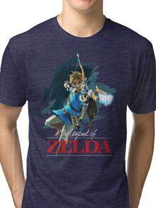 The Legend of Zelda: Breath of the Wild Artwork 3 Tri-blend T-Shirt