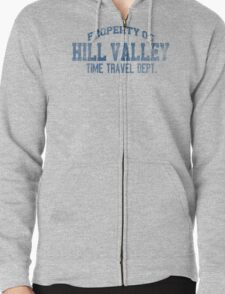 Hill Valley HS Zipped Hoodie