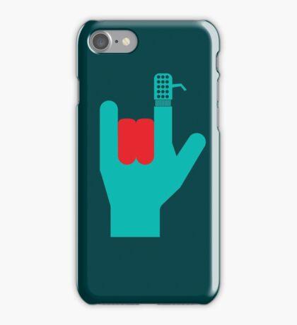 Rock DJ iPhone Case/Skin