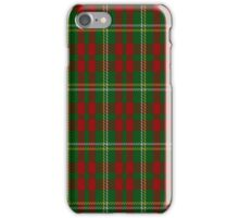 00955 Wilson's No. 169 Fashion Tartan iPhone Case/Skin