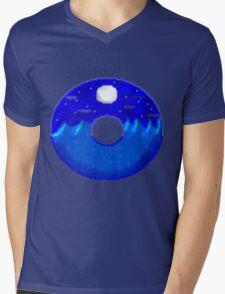 Midnight ocean doughnut  Mens V-Neck T-Shirt