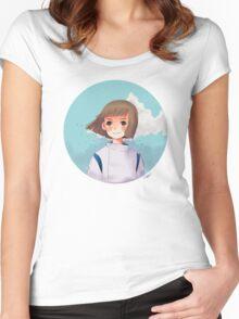 Haku Women's Fitted Scoop T-Shirt