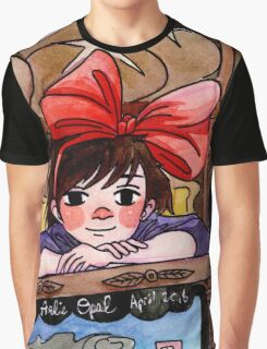 Cute Bakery Witch Kiki  Graphic T-Shirt