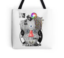 """""""There is no great genius without some touch of madness."""" - Aristotle Tote Bag"""
