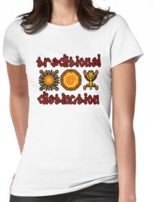 Traditional Safari Womens Fitted T-Shirt
