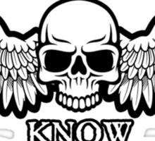 Angel of Death Know No Remorse Sticker