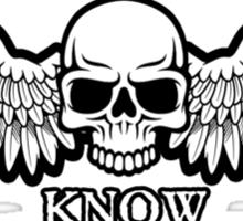 Angel of Death Know No Mercy Sticker