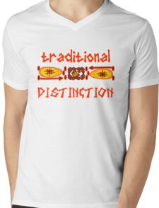 Traditional Safari Mens V-Neck T-Shirt