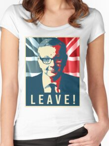 Michael Gove Leave Women's Fitted Scoop T-Shirt