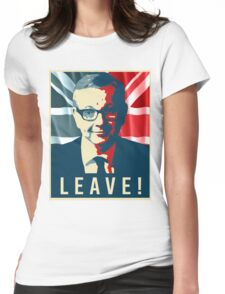 Michael Gove Leave Womens Fitted T-Shirt