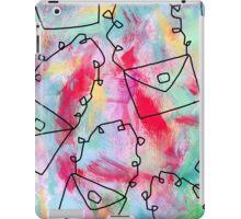 Grab Your Bag and Fly and See the World by Lenna iPad Case/Skin