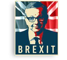 Michael Gove Brexit Canvas Print
