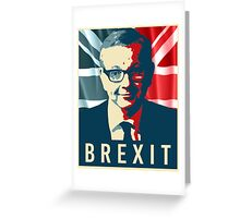 Michael Gove Brexit Greeting Card