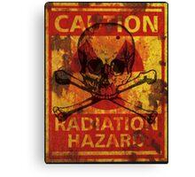 Radiation Hazard Canvas Print