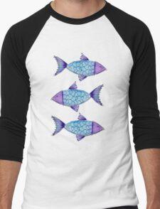 Fish Men's Baseball ¾ T-Shirt