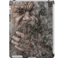 Aboriginal on paperbark  iPad Case/Skin