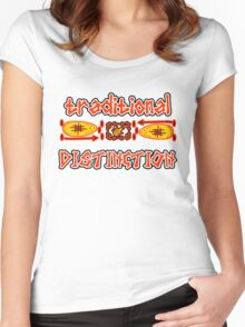 Traditional Safari Women's Fitted Scoop T-Shirt