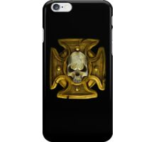 Cross and Skull Honour Badge iPhone Case/Skin